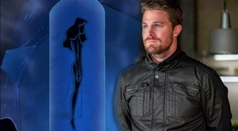 stephen amell arrow nora fries