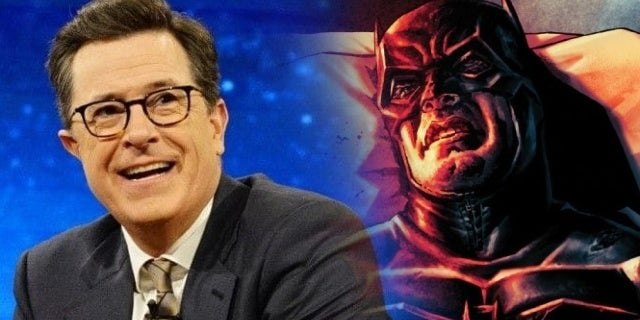 stephen colbert batman damned #1
