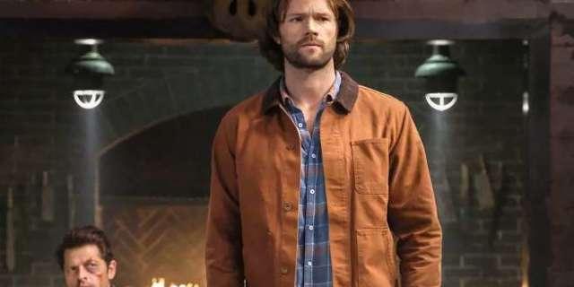 Supernatural Season 14 Jared Padalecki Sam Winchester Grief Beard