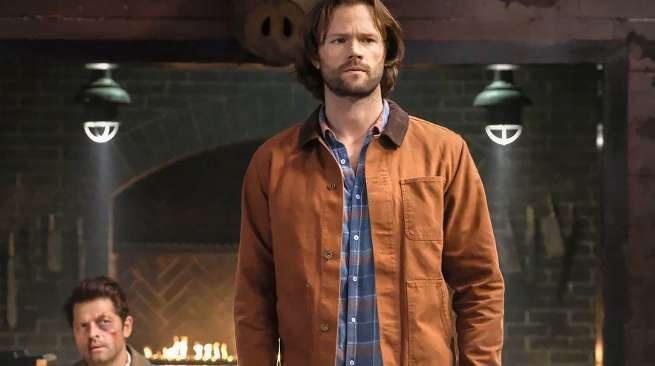 Supernatural Season 14 Jared Padalecki Sam Winchester Grief Beard