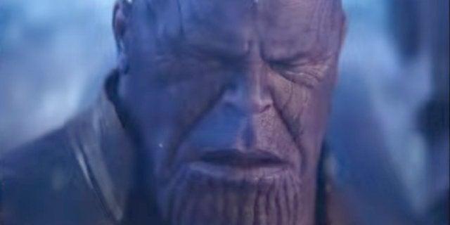 Thanos Crying