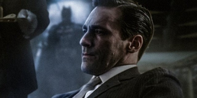 the batman jon hamm bruce wayne fanart
