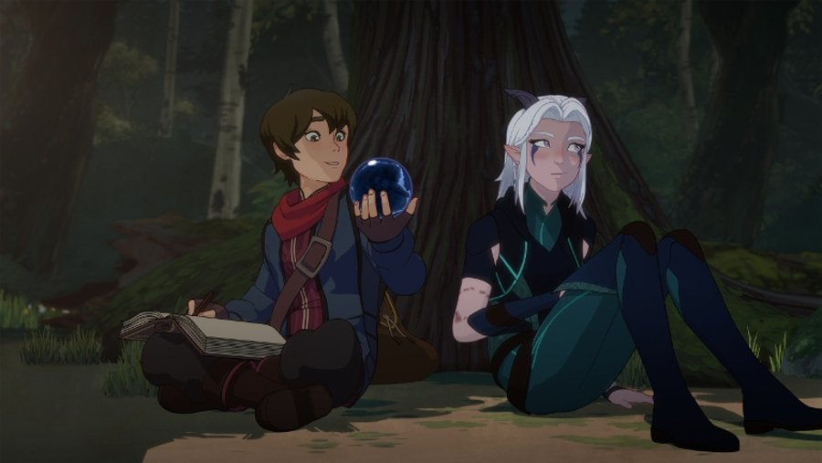 The Dragon Prince Callum Rayla
