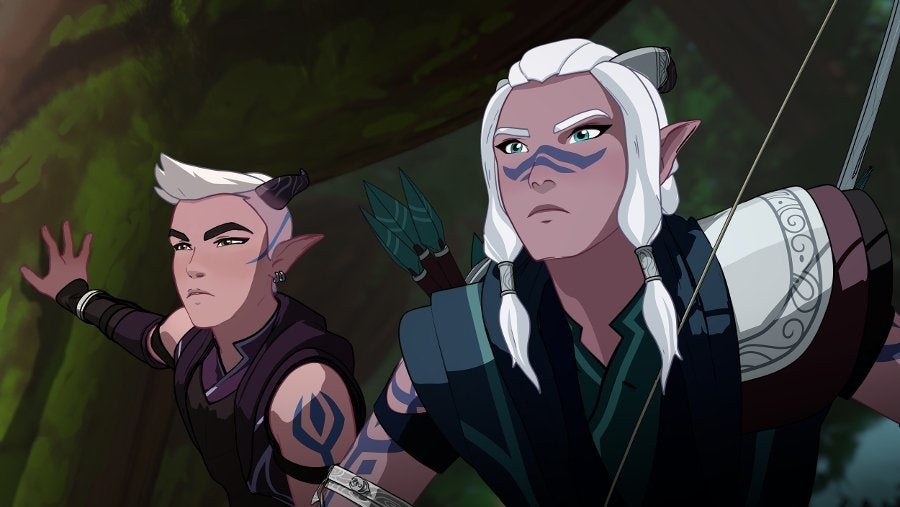 The Dragon Prince Elf Runaan