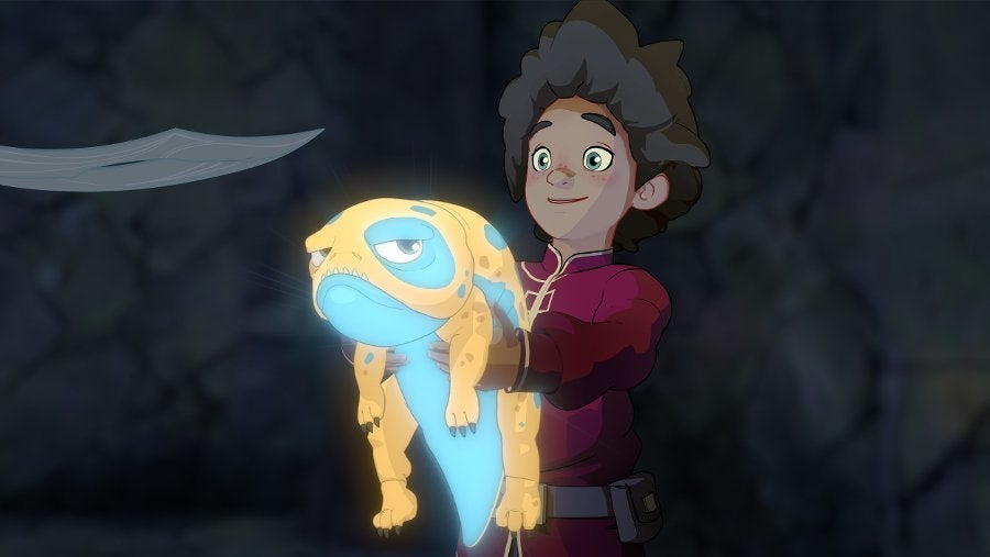 The Dragon Prince Ezran Bait