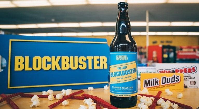 the last blockbuster beer