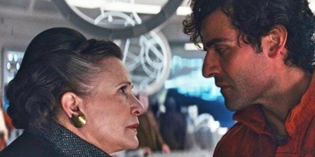 The Last Jedi Leia Poe