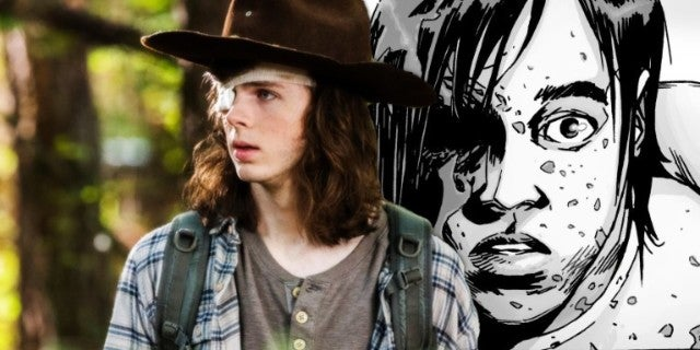 The Walking Dead Carl comicbookcom