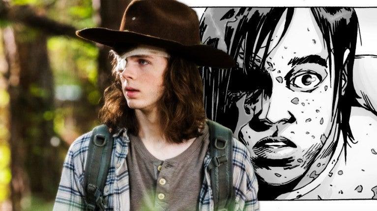 The Walking Dead Carl comicbookcom