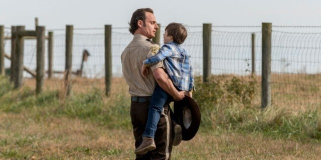 The Walking Dead Rick and Carl