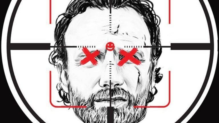 The Walking Dead Rick Shot
