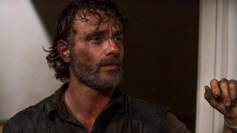 The Walking Dead Season 8 Rick Grimes Death Andrew Lincoln
