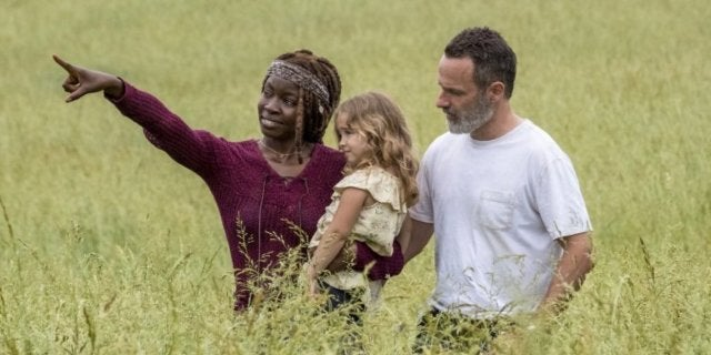 The Walking Dead season 9 Grimes family