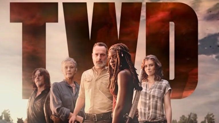 The Walking Dead season 9 key art