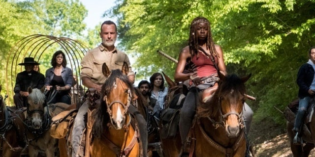 The Walking Dead season 9 Richonne