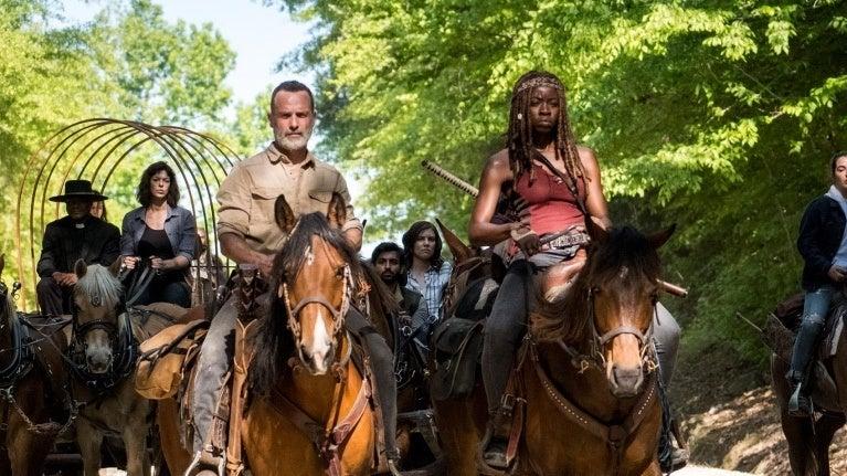 The Walking Dead season 9 Richonne
