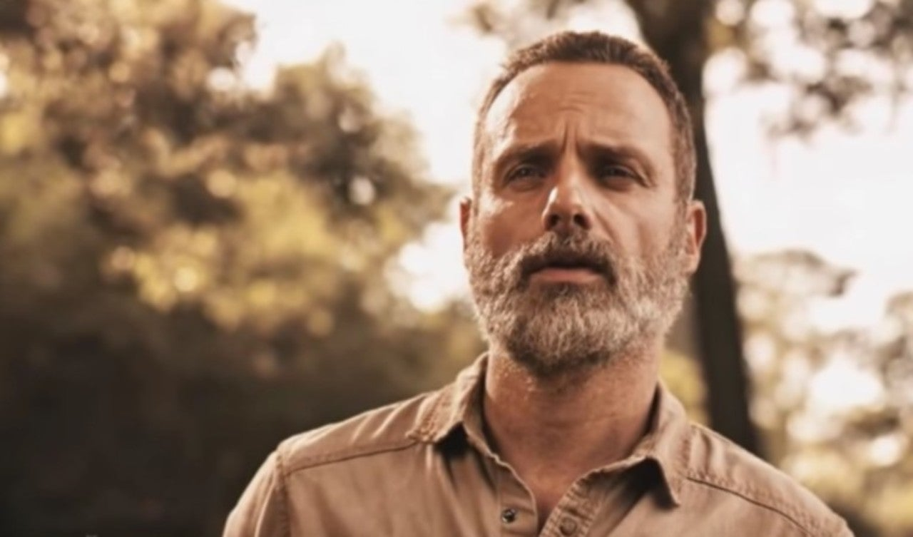 The Walking Dead Star Andrew Lincoln Talks Rick Grimes New Look In