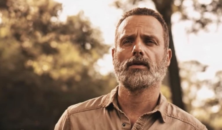 The Walking Dead season 9 Rick Andrew Lincoln