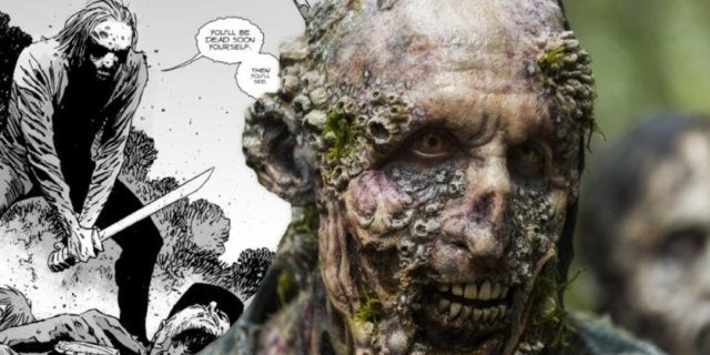 The Walking Dead season 9 walkers whisperers comicbookcom