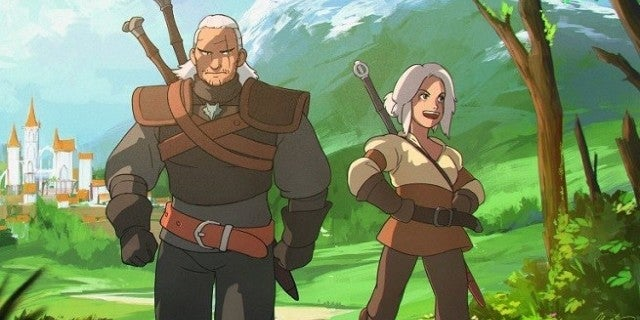 The Witcher Anime Style