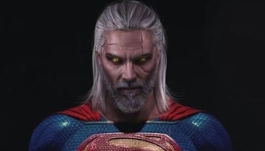 the witcher superman