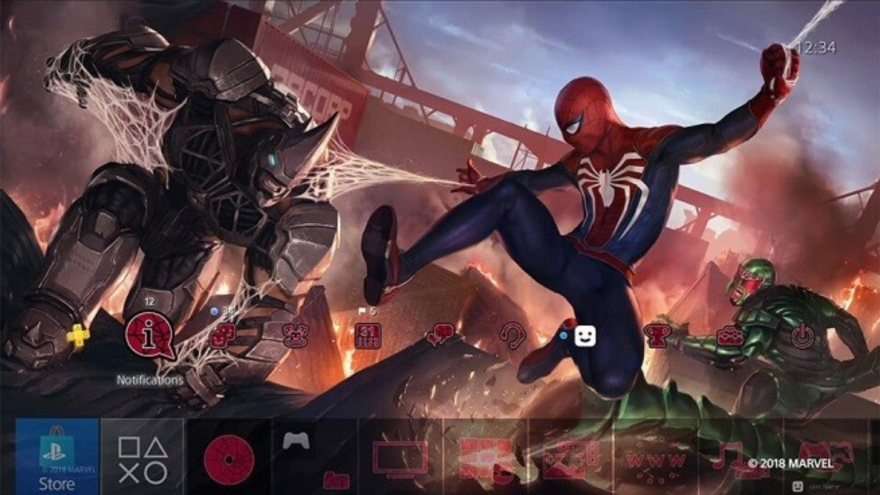 Get a Free 'Marvel's Spider-Man' PS4 Theme for a Limited Time
