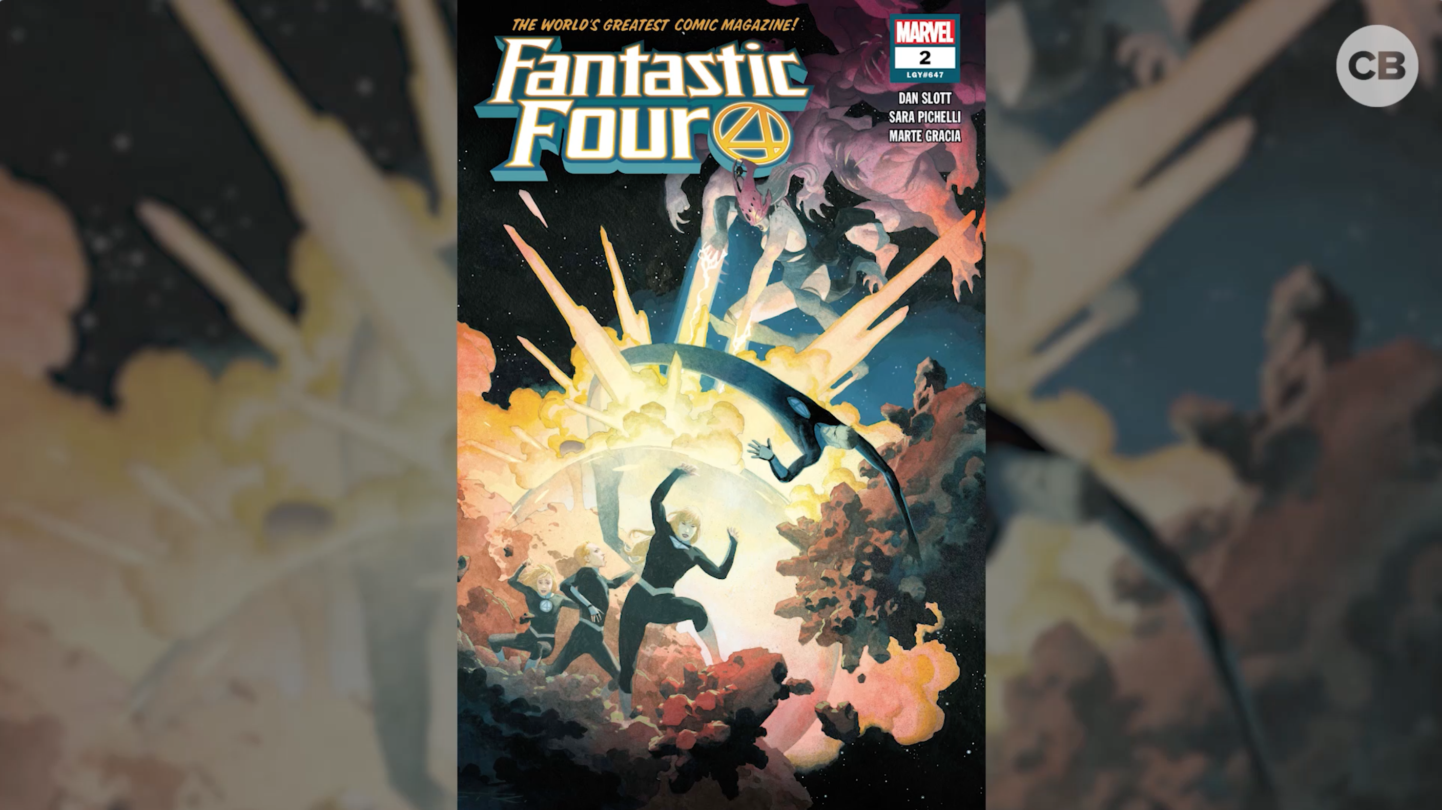 This Week In Comics - Fantastic Four #2 screen capture