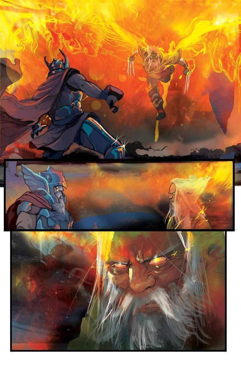 Thor vs Phoenix Wolverine