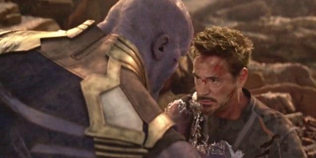 tony stark thanos infinity war