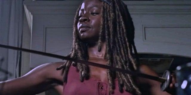 TWD season 9 Michonne
