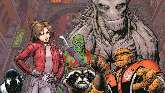 Unknown Guardians of the Galaxy - Cover