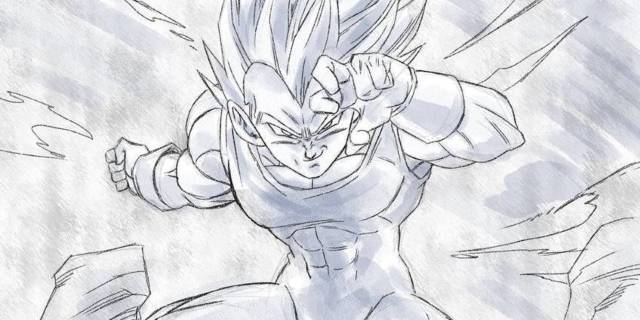 Vegeta-Dragon-Ball-Art