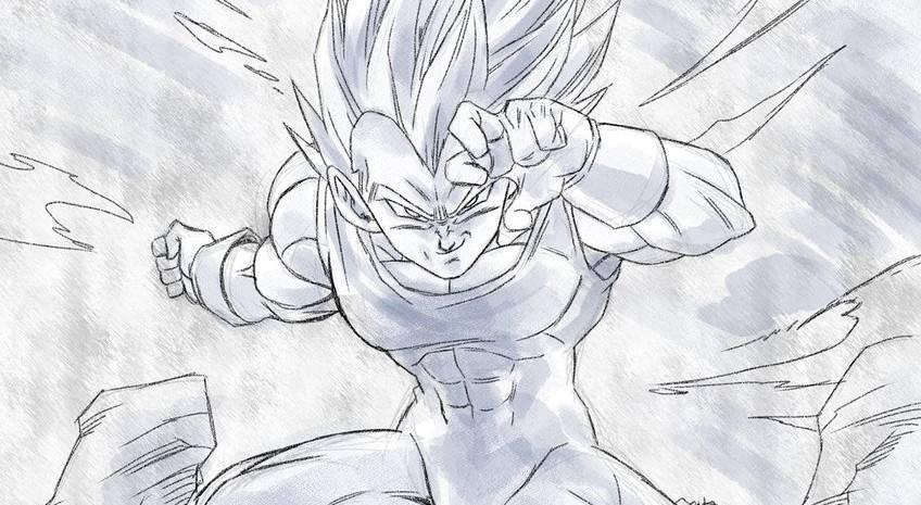 Vegeta-Dragon-Ball-Art