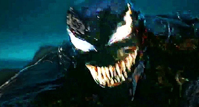 venom movie tv spot riot attacks