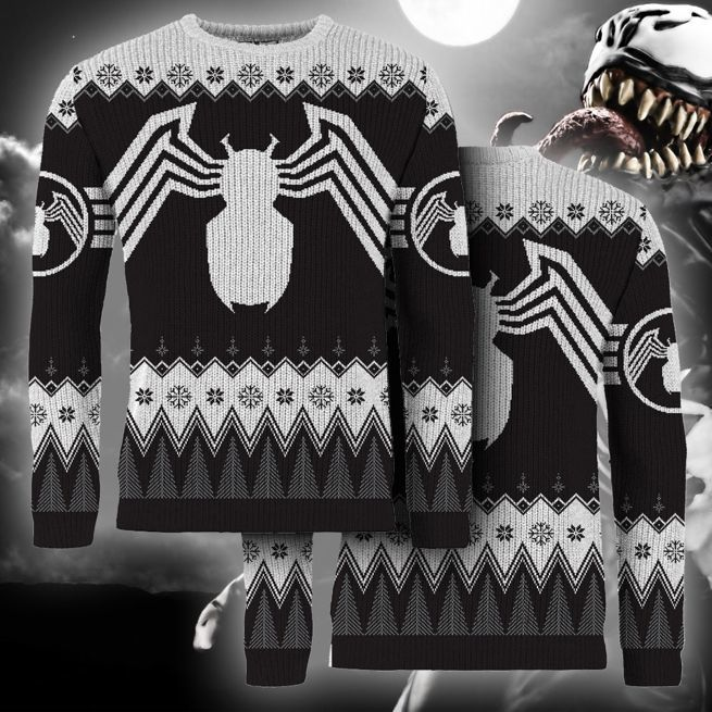 venom-ugly-christmas-sweater