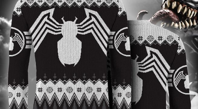 venom-ugly-christmas-sweater-top