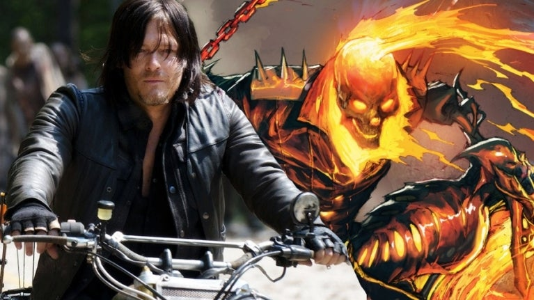 Walking Dead Norman Reedus Ghost Rider comicbookcom