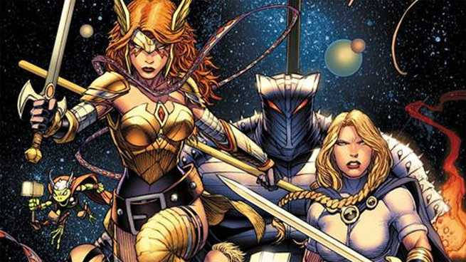 Who Are The Asgardians of the Galaxy - Cover