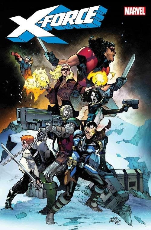 x force marvel comics cover