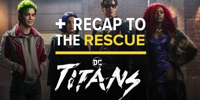 'Titans' Episode 1x01 - DC Comics Universe Easter Egg Recap screen capture
