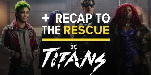 'Titans' Episode 1x02 Easter Eggs and DC Comics References - Recap to the Rescue screen capture