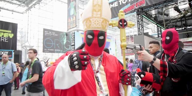 2018 New York Comic Con Cosplay screen capture