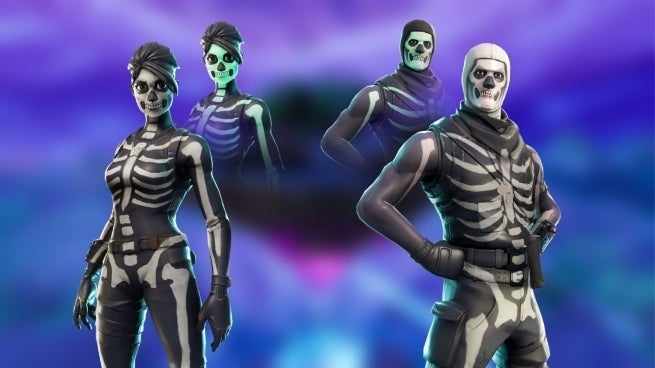 fortnite skull trooper makes its return with exclusive variant