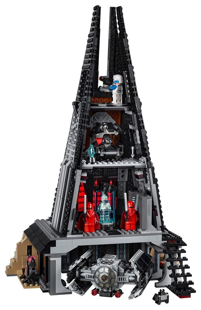 The LEGO 'Star Wars' Darth Vader's Castle Set is About to