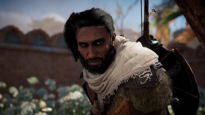 Assassin S Creed Odyssey Now Lets You Recruit Origins Star Bayek