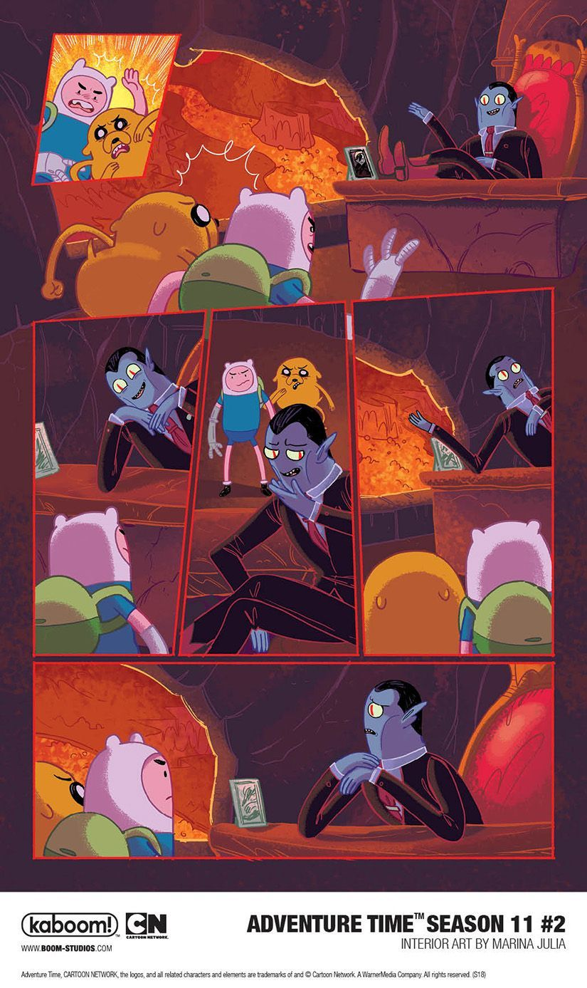 Preview Adventure Time Season 11 2 Features An