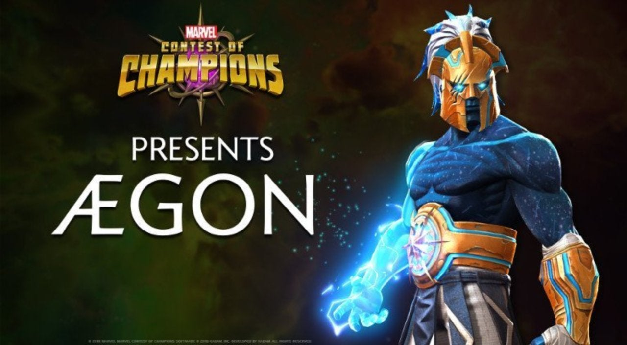 Marvel Contest of Champions' Reveals New Original Character