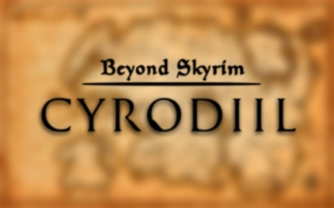 Beyond Skyrim' Cyrodiil Progress Update