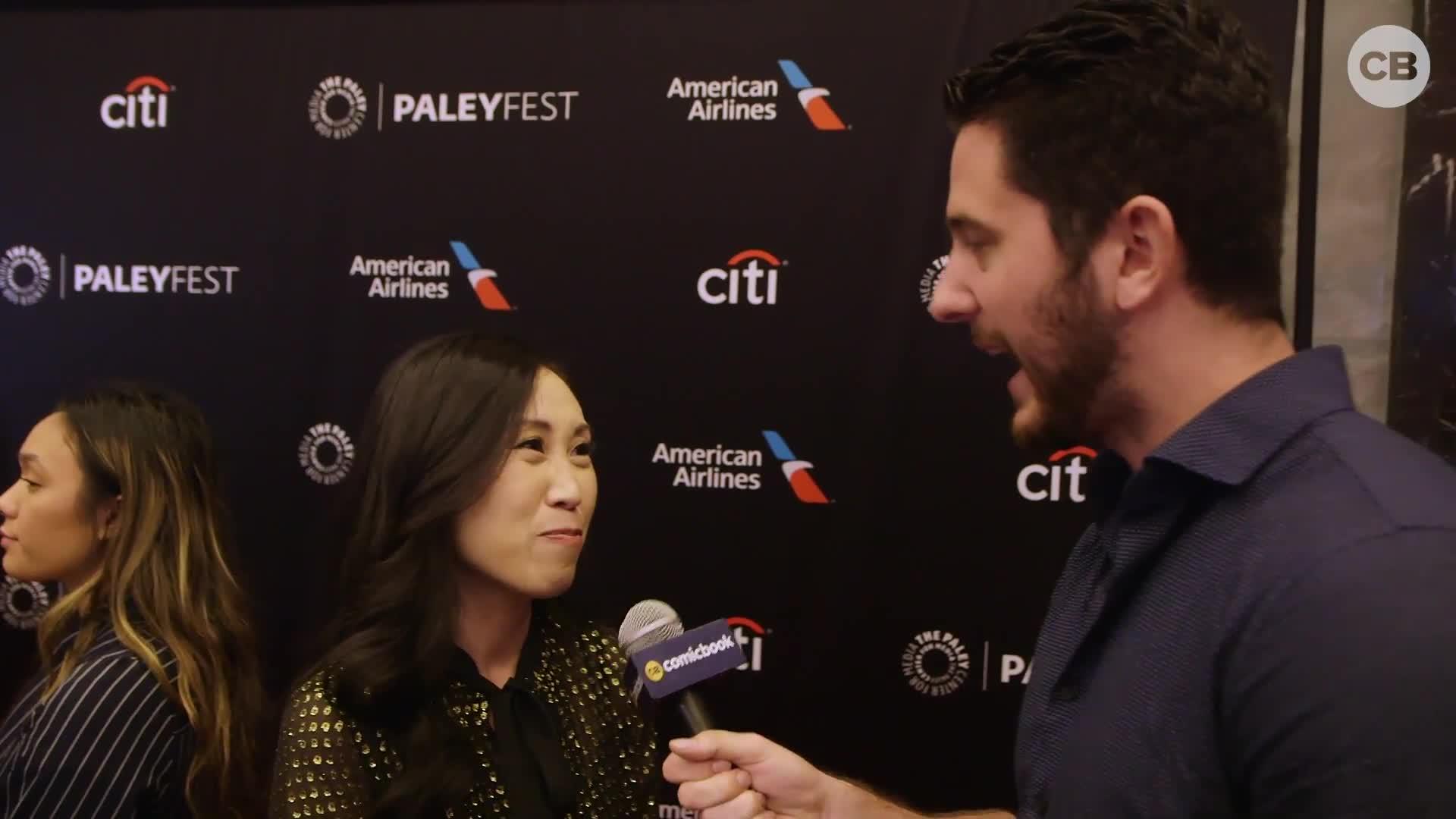 Angela Kang Talks 'The Walking Dead' at Paleyfest screen capture