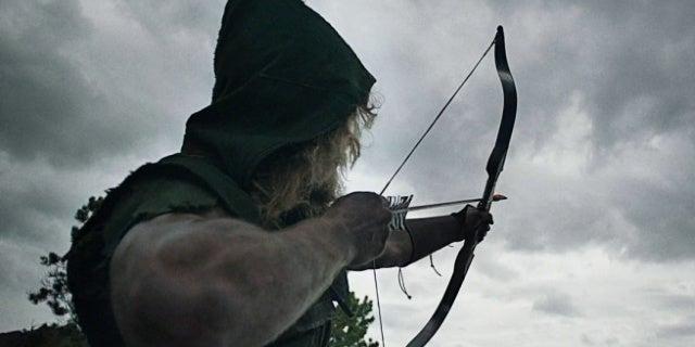 arrow pilot oliver scene